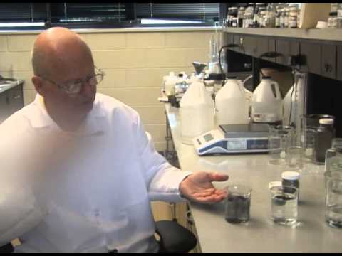 DUSTGRIP® Dust Suppressant Lab Demonstration