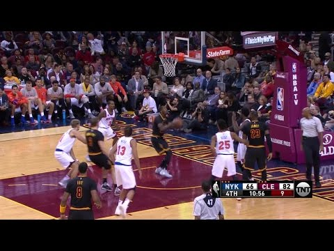 DeAndre Liggins Cuts to the Hoop for the Cavs