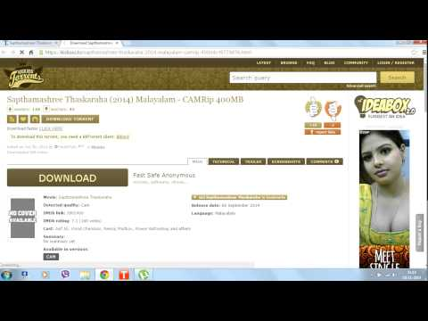 How To Download Malayalam Movie CamRip With The He