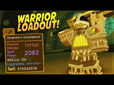NOT BEST WARRIOR LOADOUT AND *HOW TO SOLO STEAMPUNK SEWERS NIGHTMARE* DUNGEON QUEST ROBLOX