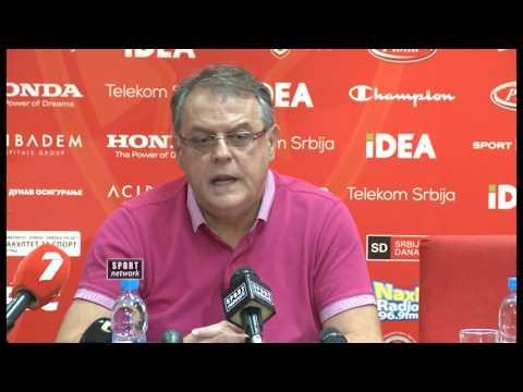 Konferencija za medije KK Crvena zvezda
