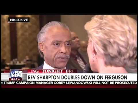 Al Sharpton and Megyn Kelly have heated exchange over Ferguson shooting
