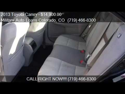 Toyota Camry Le 4dr Sedan For Sale In Colorado Springs