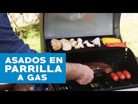 Cómo hacer asados en una parrilla a gas | Profesor Klocker