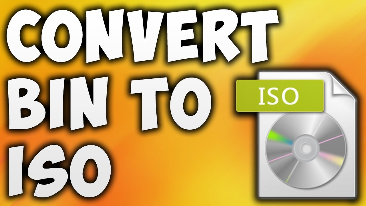 How To Convert BIN TO ISO Online - Best BIN TO ISO Converter [BEGINNER'S  TUTORIAL]