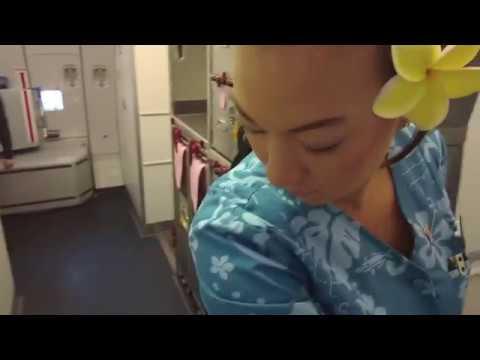 Boarding Hawaiian Airlines A330 Airbus San Francisco To Honolulu