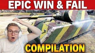 FAILS & WINS Compilation - World of Tanks :)