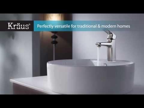 Kraus Kitchen Sinks & Faucets, Bathroom Sinks & Faucets, Bathroom Accessories