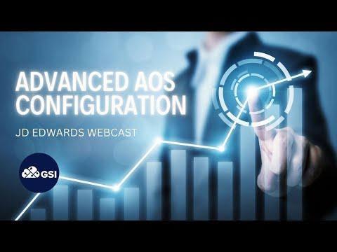 JD Edwards: Advanced AOS Configuration