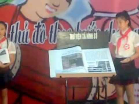 Thi giới thiệu sách hè 2012-THCS Ninh Sở
