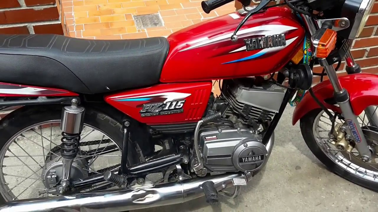 Escape de yamaha rx 115 youtube for Yamaha rx115 motorcycle for sale