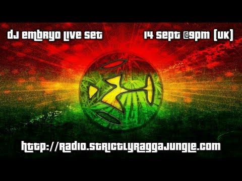 DJ Embryo - (2018-09-14) Live On Strictly Ragga Jungle Radio #4.1 [HD]