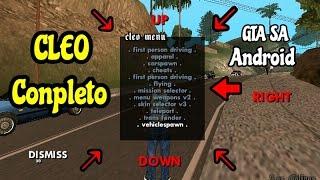 Mod Cleo completo para o GTA SAN ANDREAS Android