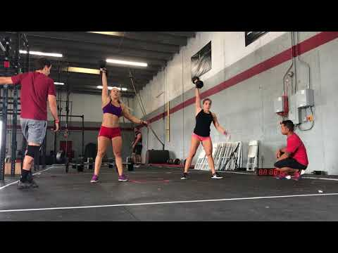 WZA WOD 7 JULIE GALLO, JULIE GONZALEZ, SMOKIN J'S