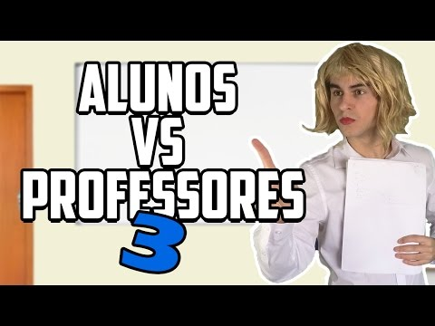 ALUNOS VS PROFESSORES 3