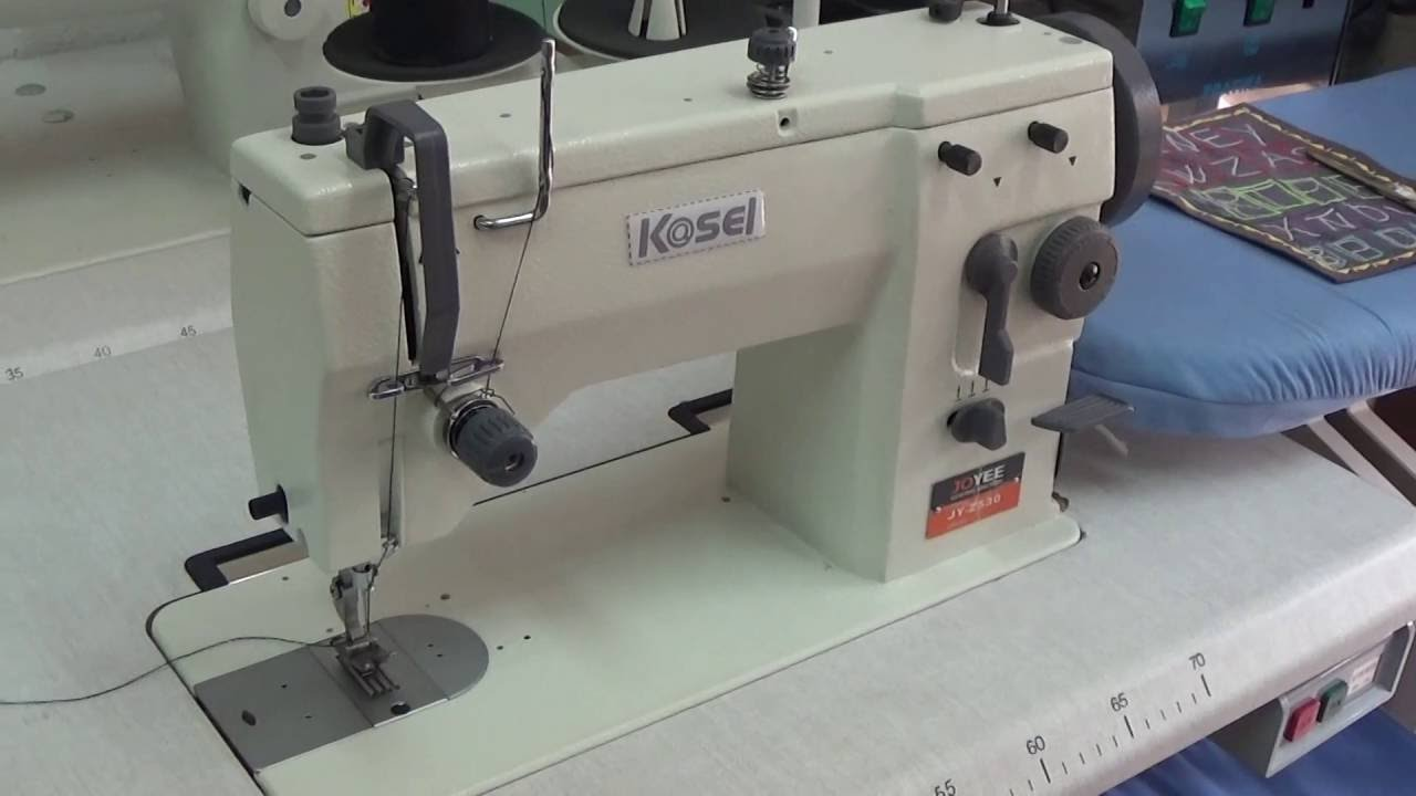 20 U , MAQUINA DE COSER SEMI INDUSTRIAL - YouTube