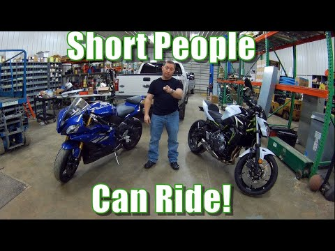Short and want a motorcycle? | Insight from an actual short rider!