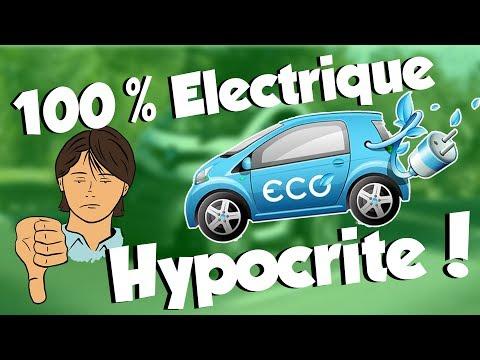 Voiture ELECTRIQUE - la GRANDE hypocrisie !