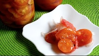 Как заготовить необычные помидоры на зиму в желе