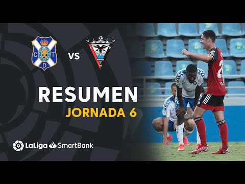 Tenerife Mirandes Goals And Highlights