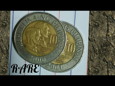 1864 2017 10 Piso Coin With Error Worth