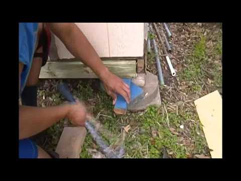 How To Replace A Bad Floor Joist On A Small Shed 2014