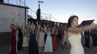 LIVE(!) FlowerBuketChallenge на свадьбе от ведущего Александра Сергеева