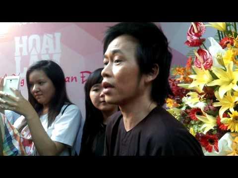 Phỏng vấn DH Hoài Linh sau buổi họp báo ra mắt MV của con trai Hoài Lâm (1)