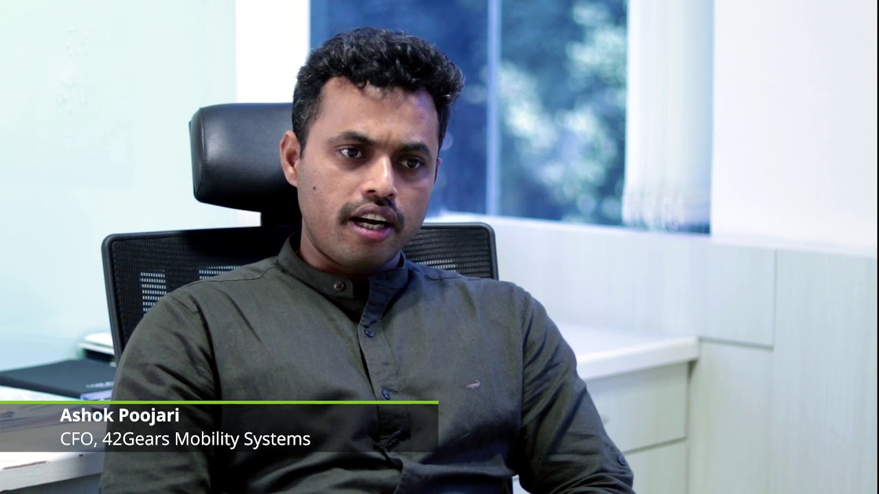 In conversation with Ashok Poojari, 42Gears Mobility System, winner of  TechFast50 2016
