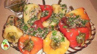 Жареный перец + рецепт чесночного соуса.Вкусная Закуска.Национальная кухня.
