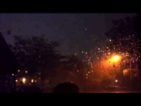 Severe Thunderstorm In DuPage County, Illinois