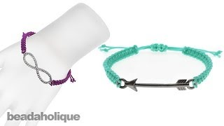 Instructions for Making the Link Macrame Bracelet Kits