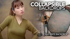 Collapsible Backdrops - A Must Have from Kate Backdrop