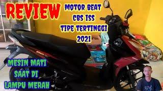 Review motor honda beat all new cbs iss tipe tertinggi||terbaru 2021