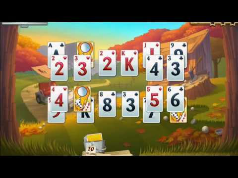 Fairway Solitaire Blast (by Big Fish Games) - Card Game For Android And IOS - Gameplay.