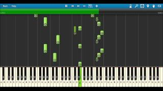 River Flows In You Piano - Yiruma Synthesia 50% Speed