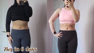SUB/Diet Vlog 6일동안 -2kg/ 나만의 단…