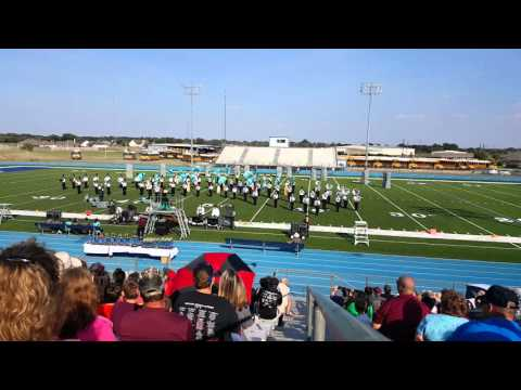 Industrial High School Edna Marching prelims