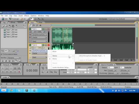 Adobe Audition 3.0 - Audio Hardware Setup (ASIO4ALL) and Insights