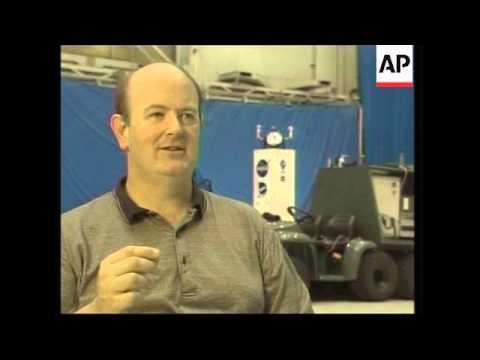 NASA launches laser-beam-powered plane