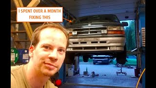 homepage tile video photo for Everything David Fixed To Prep His 250K-Mile Diesel Manual Chrysler Minivan For Germany's Inspection