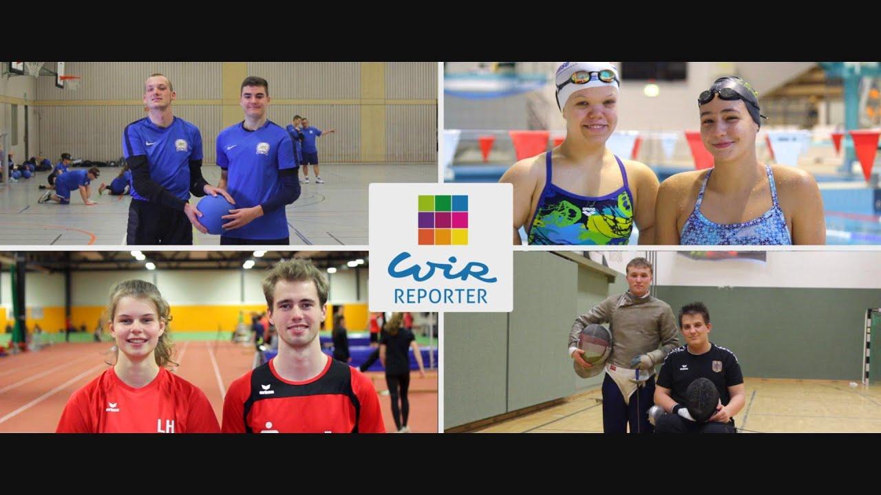 """""""WIReporter"""" Eine Medienkampagne von Sporttalenten für Sporttalente"""