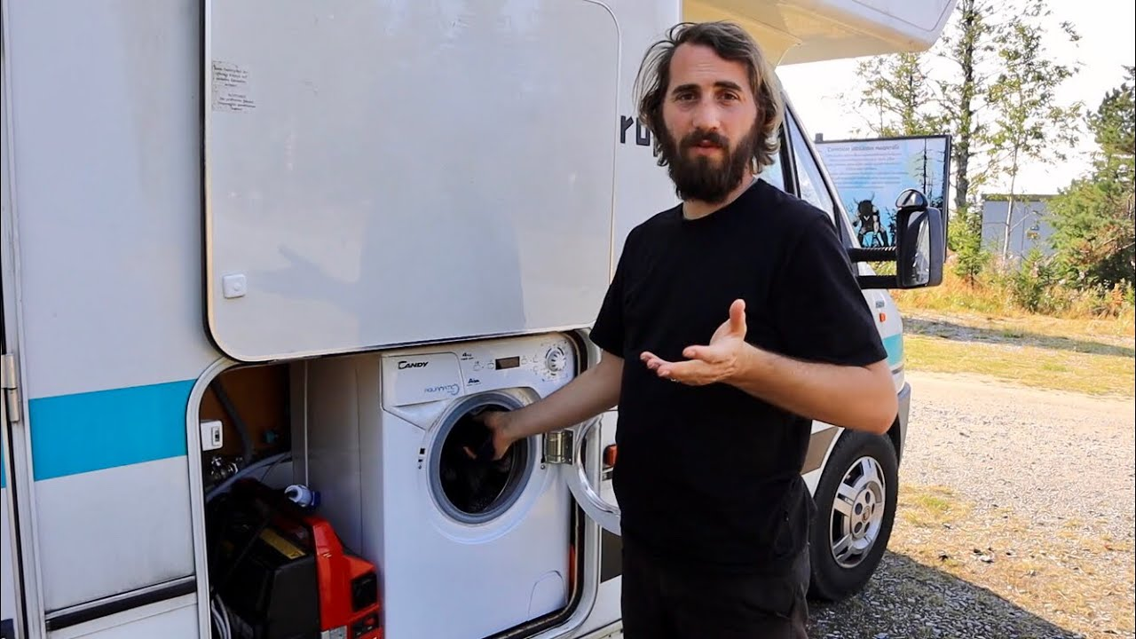 Waschmaschine im Wohnmobil  Unsere Erfahrungen mit der Candy 10