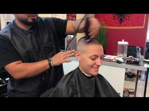TA77.net YouTube Original - Danni LV 4 (2017) - She gets a super short buzz cut