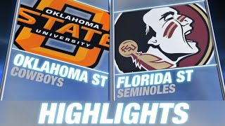 Florida State vs. Oklahoma State | 2014 ACC Football Highlights