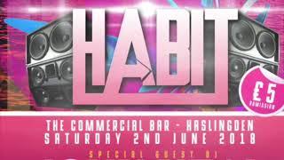 DJ John Neal, MC Hodge, MC Race. HaBit Event 1 2017