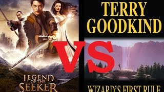 15 differences between Legend of the Seeker and The sword of truth (Tv Series vs. Books)