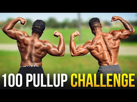 How Fast Can I Do 100 Pullups In A Row? | 100 Pullup Challenge