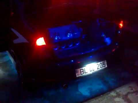 светодиодный   тюнинг Dacia Logan