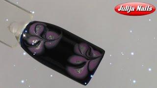 ▶ Дизайн ногтей по мокрому лаку / Рисунок иголкой(Всем привет). Давно не делала маникюр иголкой, поэтому сегодня покажу довольно простой и милый узор. Если..., 2016-03-07T16:00:02.000Z)